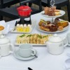 Afternoon tea at the Three Swans Hotel