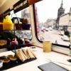 Edinburgh Castle & Afternoon Tea Vintage Bus Tour