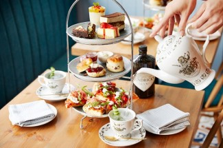 Bella Italia Gin Afternoon Tea for Two, UK Wide
