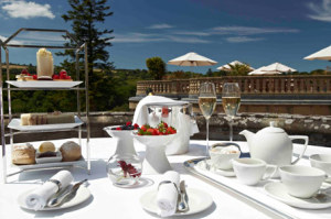 Champagne afternoon tea vouchers for Bovey Castle