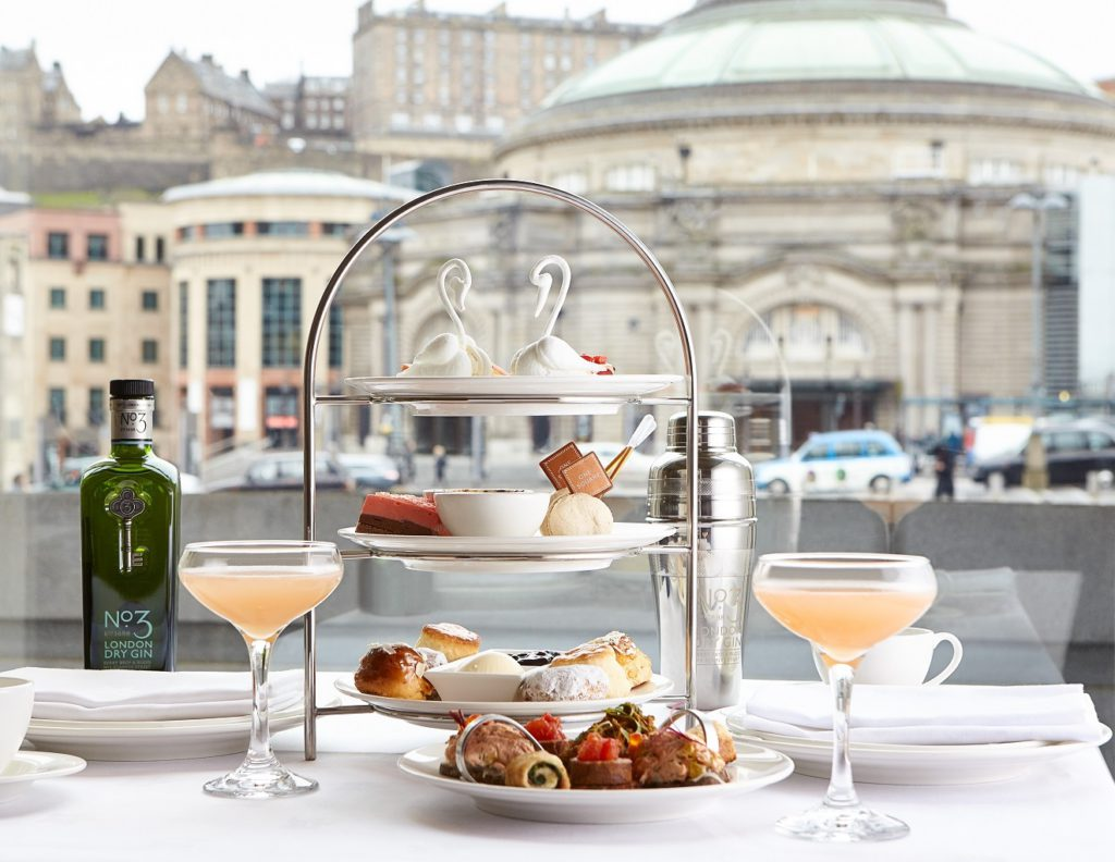 Sheraton Hotel Afternoon Tea Edinburgh, One Square menu Summer 2016