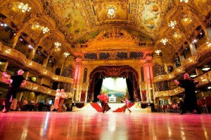 Blackpool Tower Ball Room, a great venue for afternoon tea in the North West of England