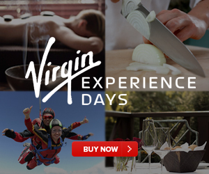 Book a gift experience with Virgin Experience