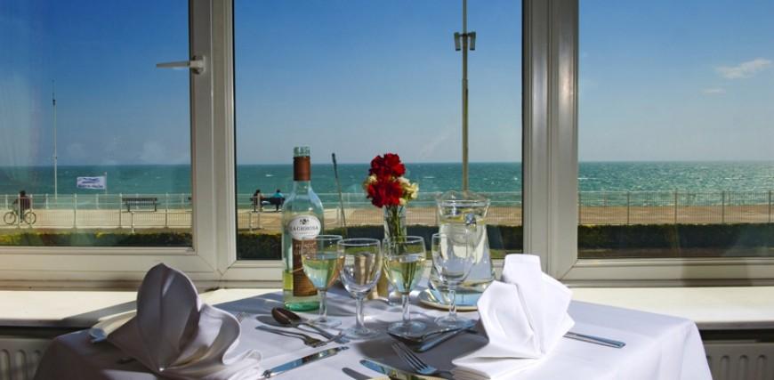 Sea Terrace Restaurant at Royal Victoria Hotel