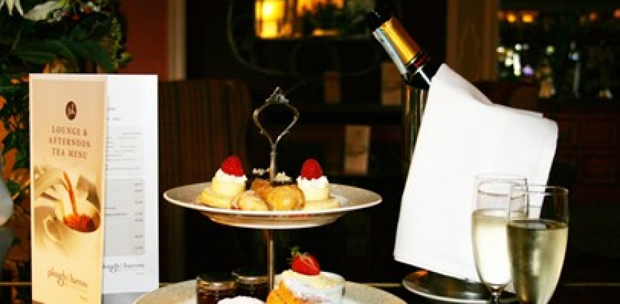 Afternoon Tea at The Plough & Harrow Hotel