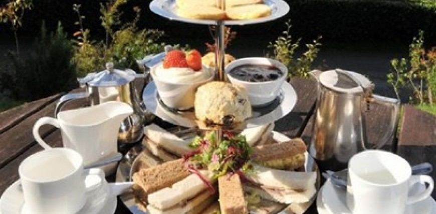 Afternoon Tea at Lake Vyrnwy Hotel & Spa