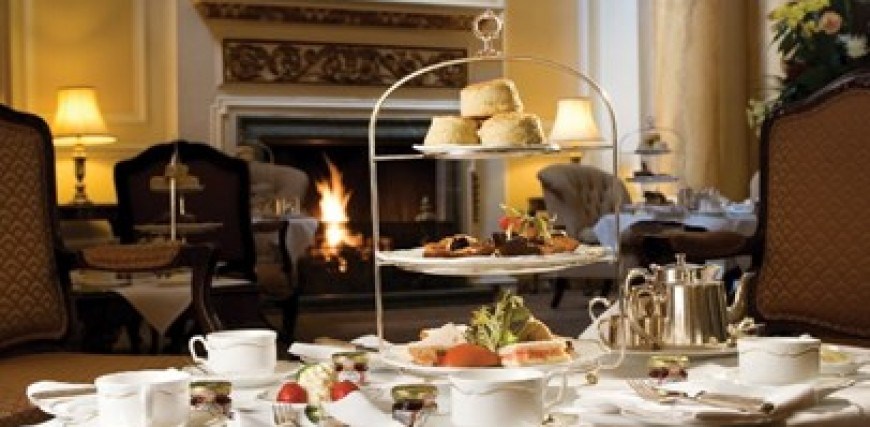 Afternoon Tea at The Grand Hotel, Eastbourne.