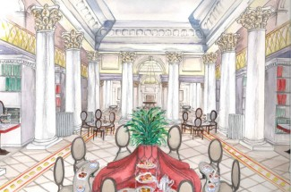 Win Afternoon Tea at the Signet Library, Edinburgh Colonnades Tea Salon