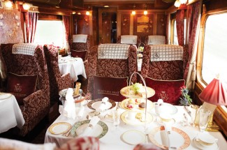 Afternoon Tea, Travel and Trains