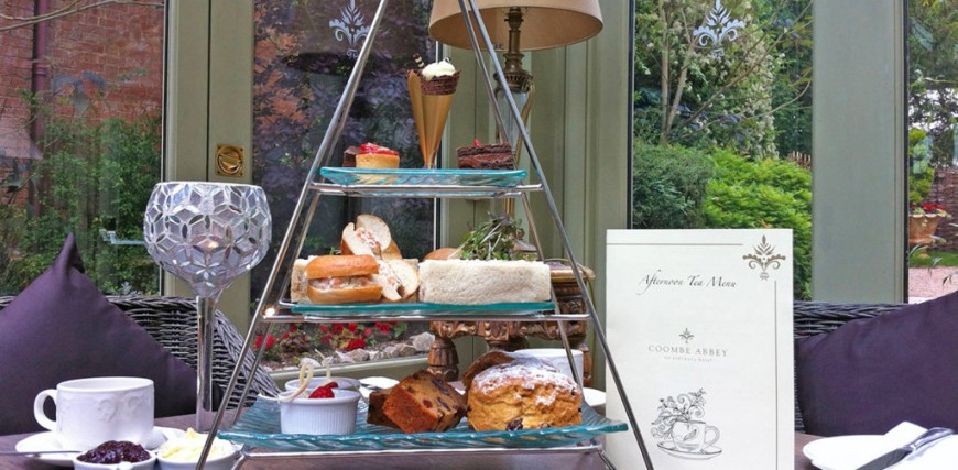 Coombe Abbey Afternoon Tea with Prosecco