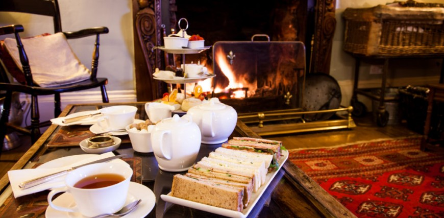 Orestone Manor Champagne Afternoon Tea, Devon