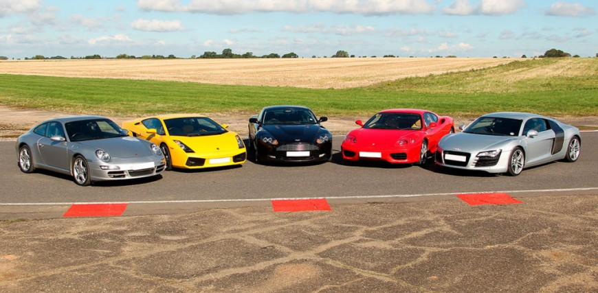 Five Unmissable Supercar Driving Experiences