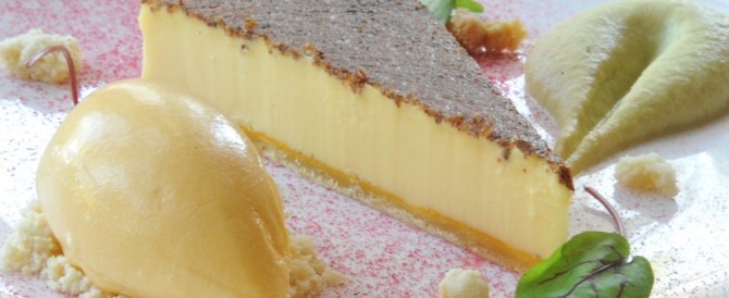 Orestone Manor Duck Egg Custard Tart Recipe