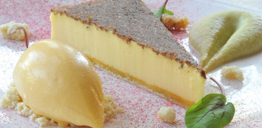 Orestone Manor Duck Egg Custard Tart Recipe