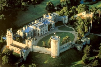 Warwick Castle with Afternoon Tea at the Conservatory Tea House for Two