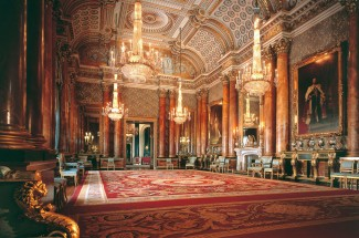 Entry to State Rooms at Buckingham Palace 2020 and Afternoon Tea at Rubens at the Palace for Two