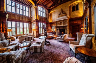 Bovey Castle Afternoon Tea, Devon.