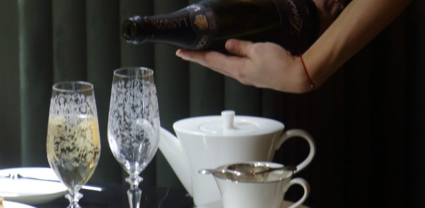 Luxury Spa and Champagne Afternoon Tea at the Athenaeum, London.