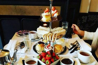 Afternoon Tea at Craiglands Hotel, West Yorkshire