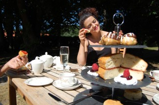 Afternoon Tea at the Grove Hotel, Norfolk