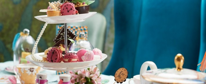 Win an Alice in Wonderland Themed Afternoon Tea for Two