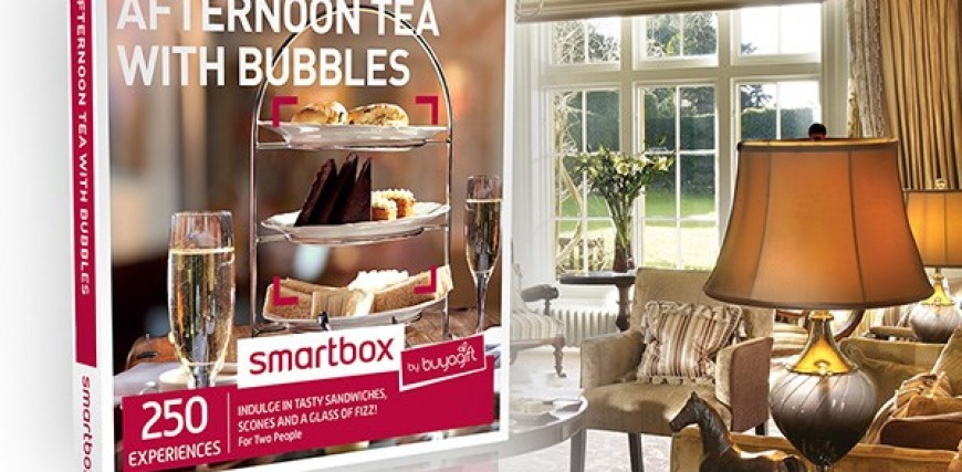 Competition: Win an Afternoon Tea with Bubbles Smartbox from Buyagift