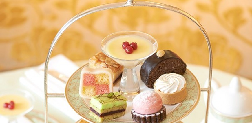 Champagne Afternoon Tea at the Grosvenor House for Two