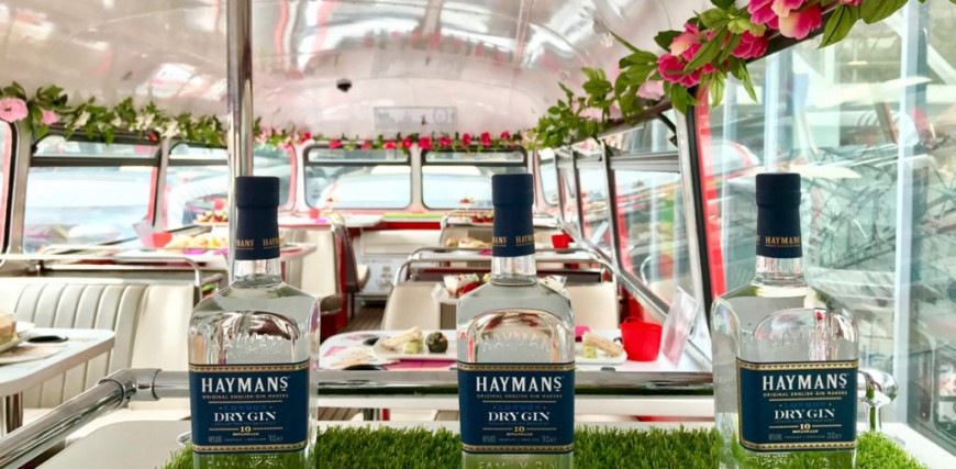 London Gin Bus Tour with Afternoon Tea