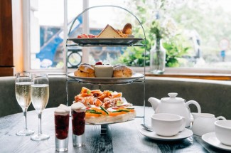 Brasserie Blanc Afternoon Tea for Two including Prosecco