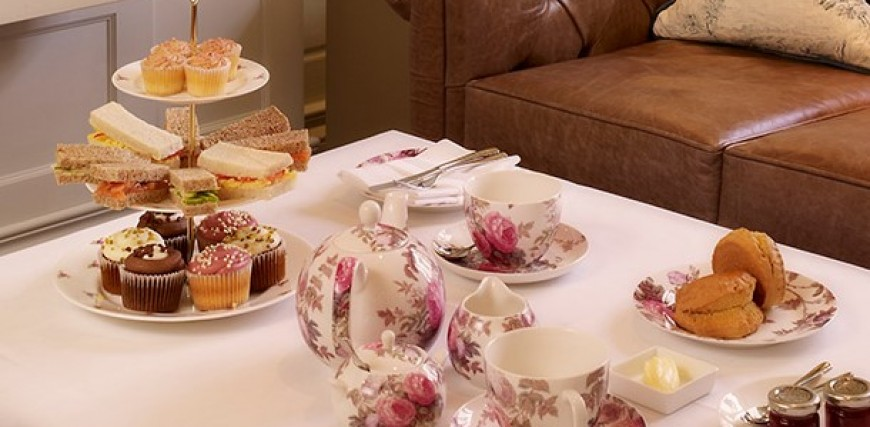Afternoon Tea at the Arden Hotel, Stratford Upon Avon.