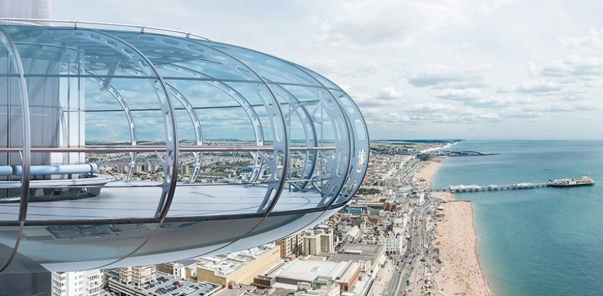 British Airways i360 Flight with Vintage Afternoon Tea