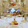 Afternoon Tea at the Criterion Hotel with Prosecco, London.