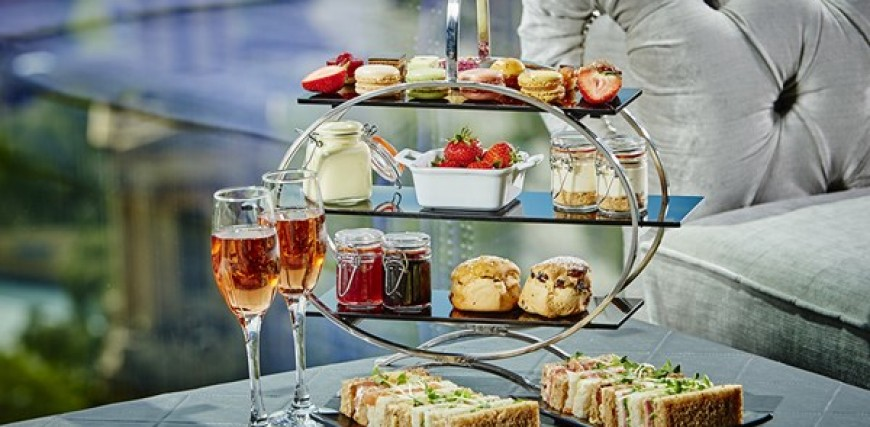 Marco Pierre White Afternoon Tea, Birmingham with Champagne