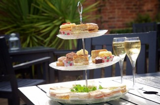 Lady Hamilton's Luxury Afternoon Tea at the Talbot Hotel, Surrey