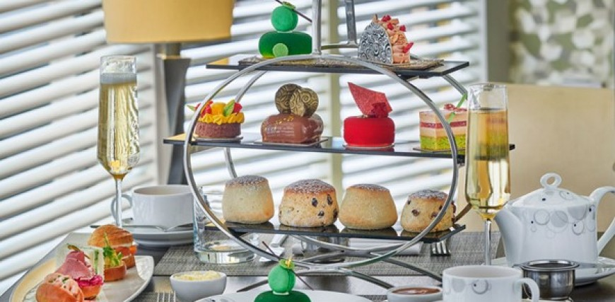 Chocoholic Afternoon Tea at The London Hilton Park Lane for Two