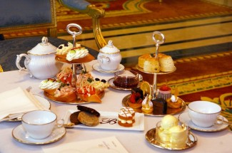 Afternoon Tea at the Bentley Hotel, London.