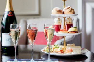Taittinger Champagne Flight Afternoon Tea at The Arch Hotel, London for Two