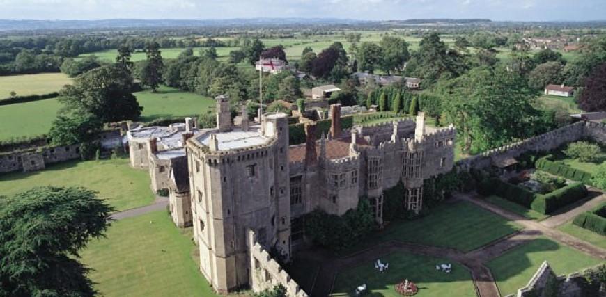 Afternoon Tea Thornbury Castle, Gloucestershire