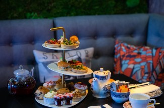 Afternoon Tea at Village Club Hotel, Edinburgh