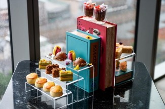 Afternoon Tea at 20 Stories Rooftop Restaurant, Manchester