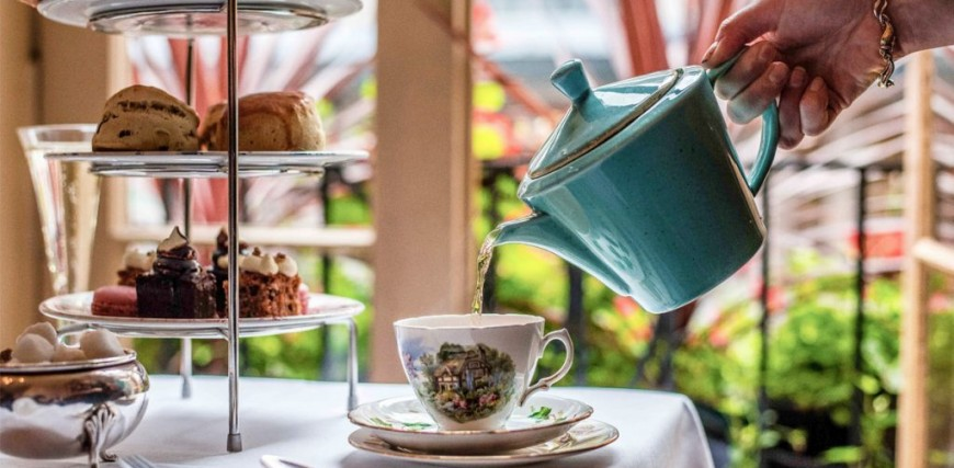Afternoon Tea at the Palm Court Brasserie, Covent Garden