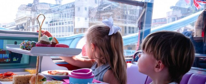 COMPETITION TIME: Peppa Pig Afternoon Tea Bus Tour for One Adult and One Child