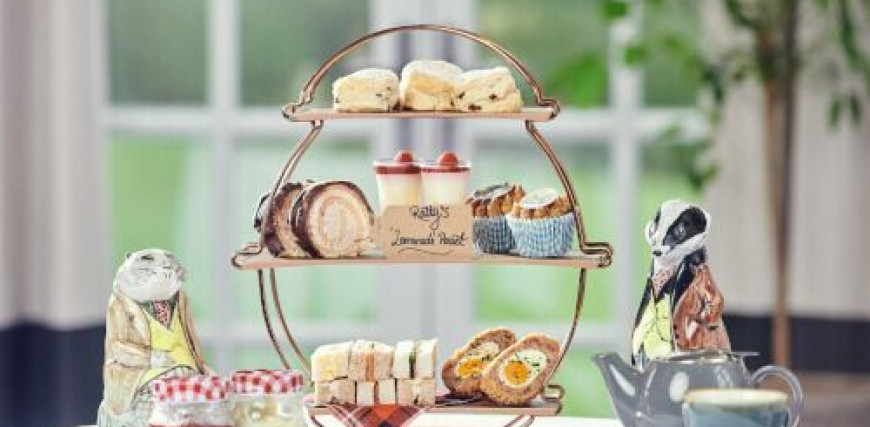 Wind in the Willows Afternoon Tea – Two Adults and Two Children