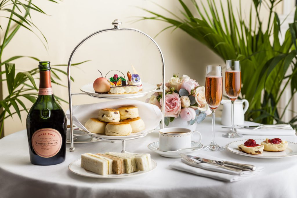 Chelsea Flower Show Afternoon Tea by the Dorchester Hotel, London
