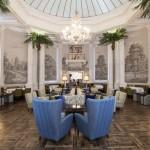 The Balmoral afternoon tea at the Palm Court, Edinburgh