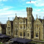 The restaurant at the Oakley Court Hotel serves superb afternoon tea in Windsor, Berkshire.