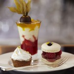 Sweet treats for Afternoon Tea at the Halkin Hotel, Como Bar, London, Knightsbridge