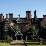 The very grand facade of Alexander House Hotel, East Grinstead, a magnificent venue for afternoon tea in West Sussex.