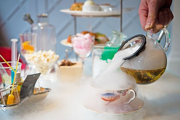 Science Afternoon Tea at the Ampersand Hotel. The perfect adult and children afternoon tea.
