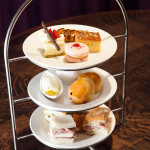 Traditional afternoon tea at Blythswood Square, Glasgow